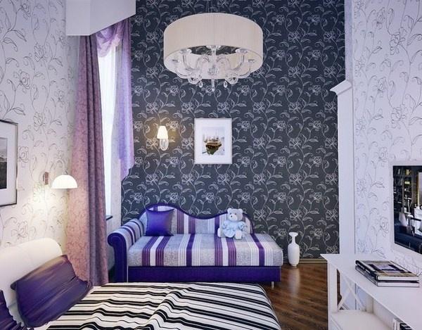Artistic decor in teen girl bedroom #artistic #bedroom #decor #bedrooms #art #artiistic