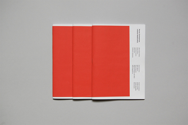 v a . projects #swiss #book #red