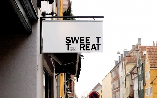 Sweet Treat – den sublime pause | Re-public #logo #identity #tyopography #branding