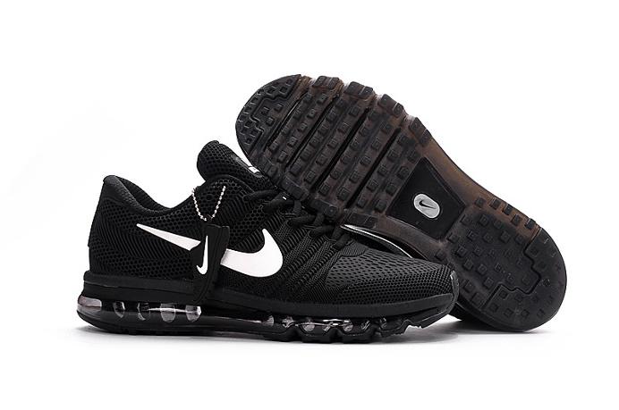 Nike all palm nano drop plastic technology Men's Air Max 2017 Sports Shoes black