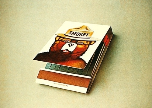 GENERAL PRACTITIONERS - @falsearms.com #smokey #bear #matches #matchbook