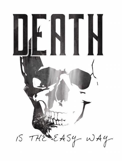 Death is the easy way #design #design4 #istanbul #fashion #logo #coolbear