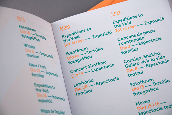 Centre Cívic Can Felipa #editorial #brochure #typography