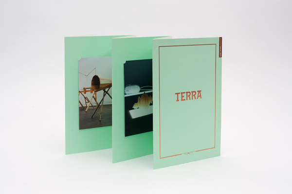Jerwood – TERRA | THIS IS Studio #catalogue #print #layout