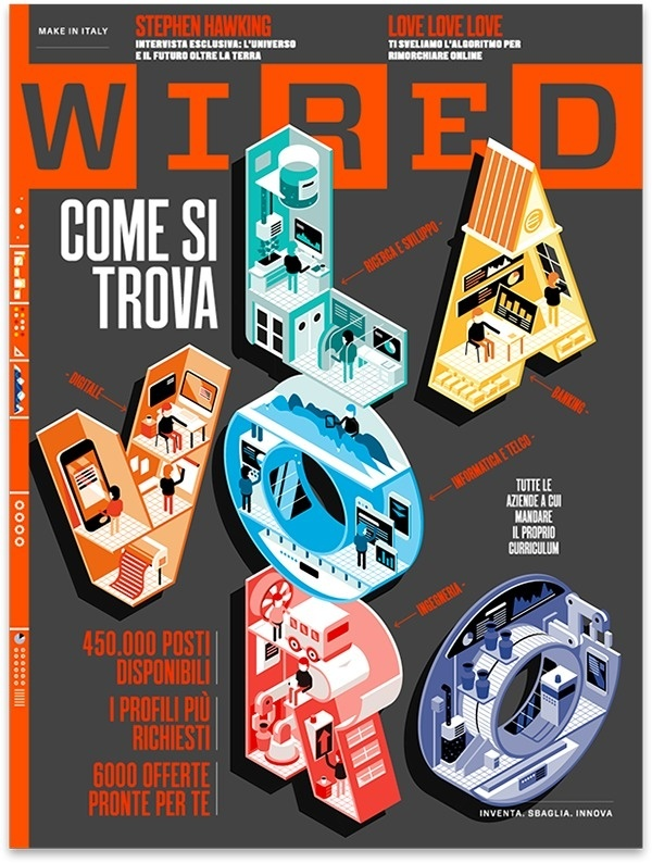 Best Wired Italy Job Issue Cover images on Designspiration