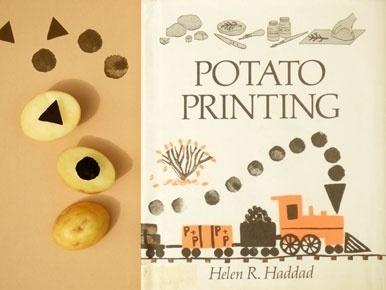 Present&Correct - Potato Printing #retro #book #publishing #illustration #vintage