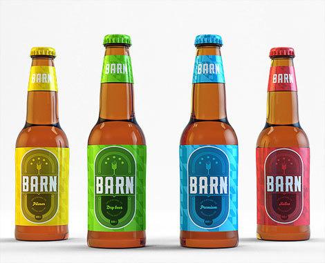 Beer Barn Brazil Bottles #beer #label #bottle