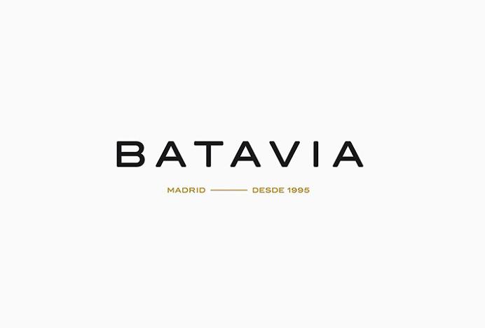 Batavia by We Are Rifle #logo #logotype #typography