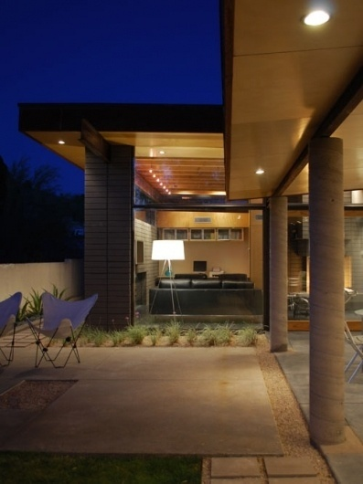 Silvertree Residence in Arizona by Secrest Architecture | Design Milk #concrete #arizona #secrest #glass #architecture #outdoor