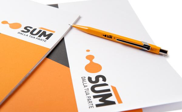 Sum Identity on Behance #logotype #branding #corporate #brand #identity #energy #logo