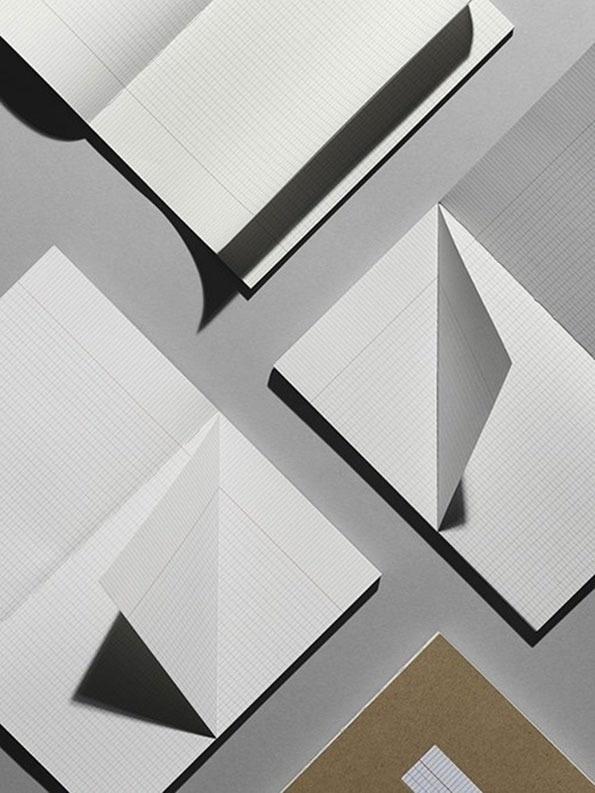 The-book-design #lines #photo #grid #minimal #paper