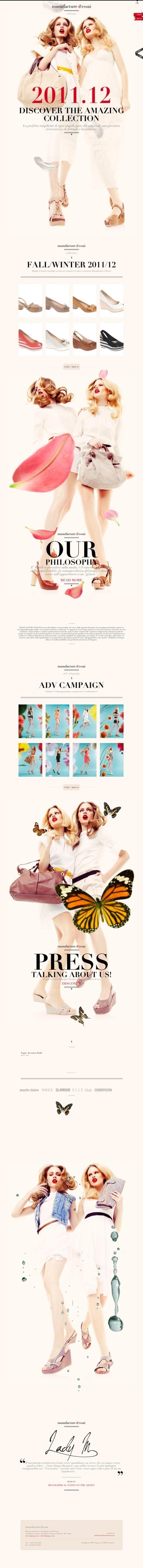 DesignersMX: Manufacture d'essai by JeremyMitchell #fashion #design #website #shoes