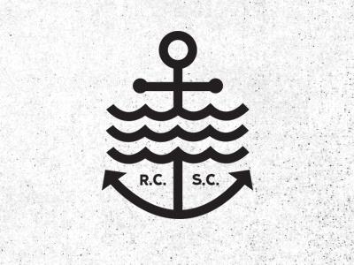 Rcsc_02 #logo #anchor #sea