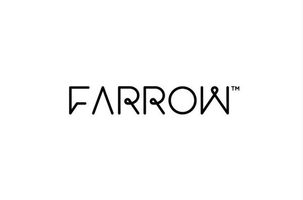 Farrow logo designed by Mash Creative #logo