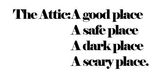The Attic : Adrineh Asadurian #poem #architecture #attic