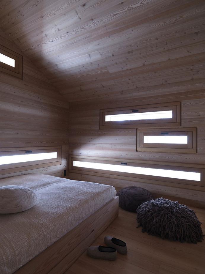 cozy-mountain-cabin-can-open-to-elements-6-bedroom.jpg #cabin #bedroom #light #windows