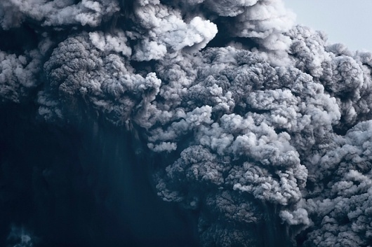 Hrafnkell Sigurösson — Gabrielle Maubrie Gallery — Exhibition — Slash Paris #smoke #hrafnkell #eruption #photography #volcano #art #sigursson