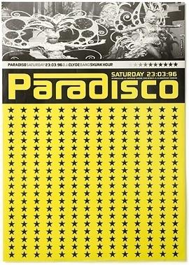 Paradiso / Posters 1 - Experimental Jetset #experimental #paradisco #1990s #poster #amsterdam #jetset