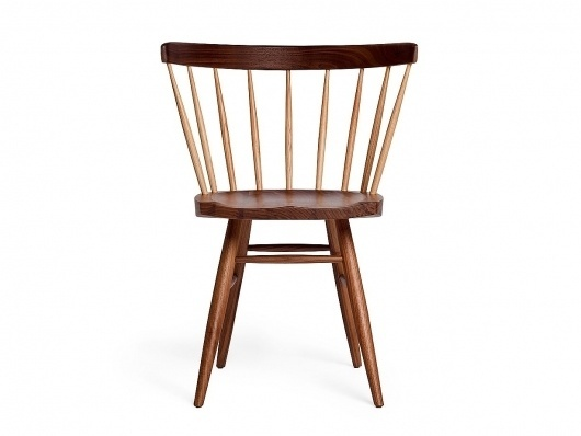 Nakashima Straight Chair : Viaduct #george #chair #straight #knoll #nakashima
