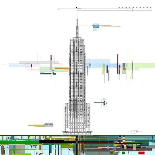 Empire State Building #urban #city #empire #manhattan #skyscraper #building #state #york #new
