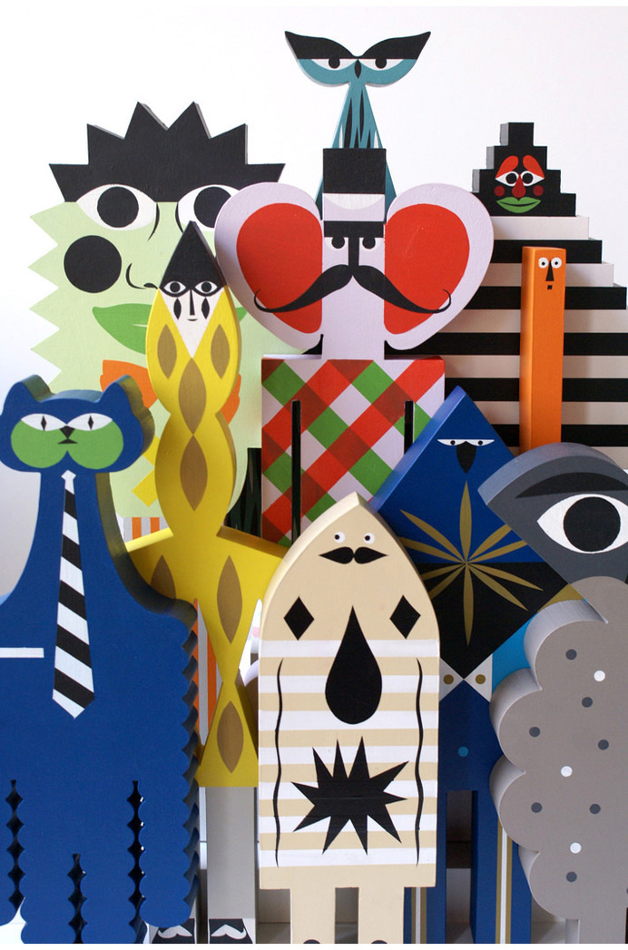 Séverin Millet #toys #creatures #characters