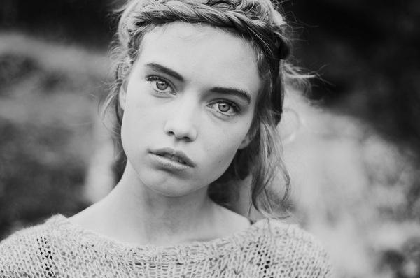 Elsa Holmgren #model #girl #eyes #swedish #blonde #fashion #beauty