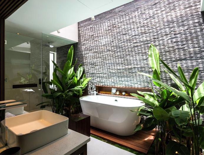 Exotic Luxury Naman Villa in Vietnam - #bath, #interior, #decor, home, bathroom