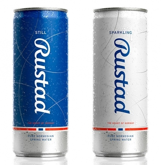 Rustad Spring Water | Lovely Package #package