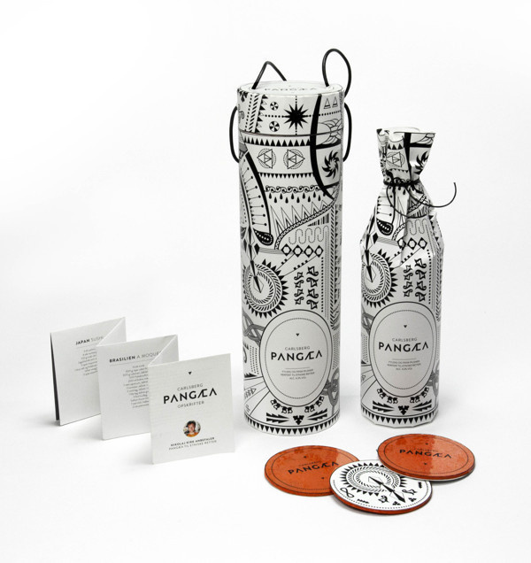 PANGÆA on Behance #pattern #ethno #wine #paper #package