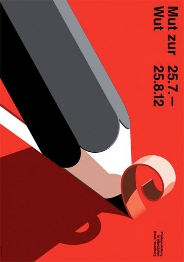 Mut zur Wut #illustration #poster #shadow