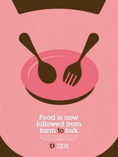 designpiration #pink #adv #ibm #food