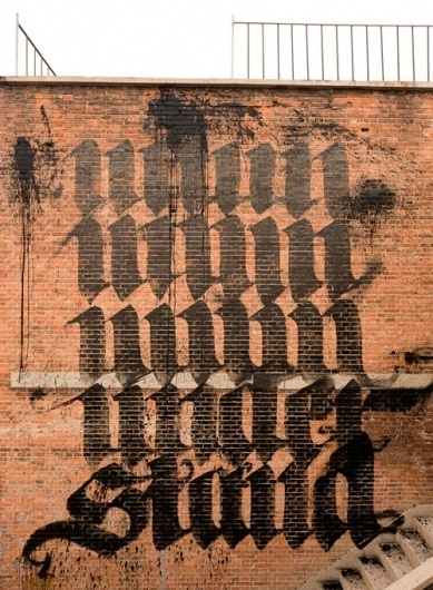 Calligraffiti #illustration #typography #graffiti