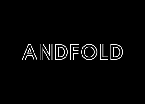 FFFFOUND! | Andfold Studio : Graphic Design Leicester : Andfold Identity #line #black #logo #double #type