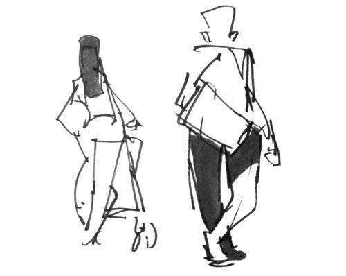 snap from my sketchbook #gesture #drawing #sketchcrawl #sketch