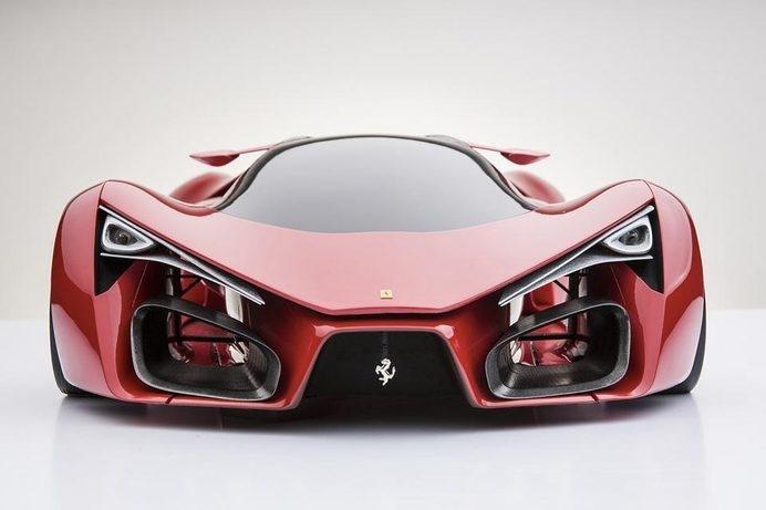 Supercar Ferrari F80 #conceptcar #ferrari