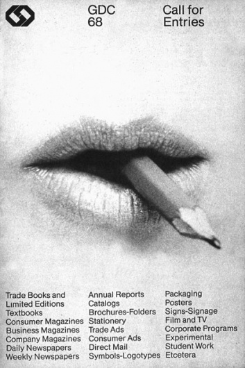 The CANADIAN DESIGN RESOURCE » Burton Kramer / GDC #kramer #white #gdc #black #grid #poster #burton #typography