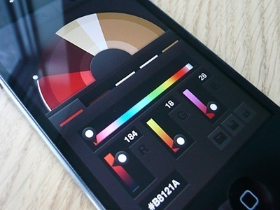 Interface design inspiration #color #mobile #design #ui