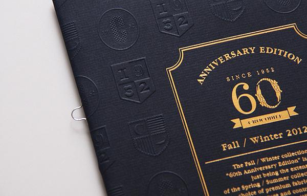 Crocodile 60th Anniversary A/W Catalog by Ken Lo #print #booklet #book