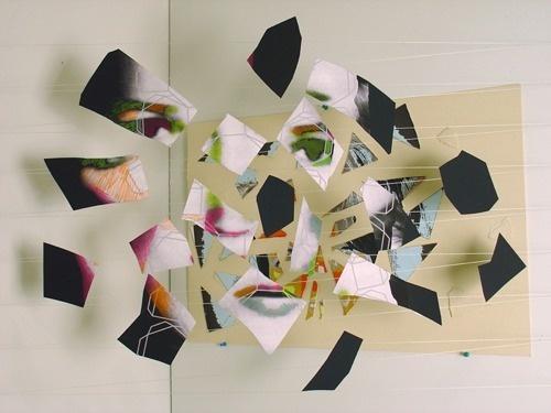 JD Walsh « PICDIT #sculpture #collage #installation