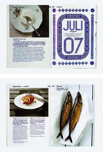 Vis en Vega : Studio Laucke Siebein #halftone #layout #cookbook