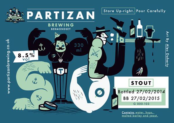 Partizan Brewing Stout G000 103 #brewery #partizan