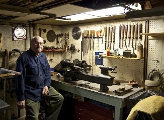 All sizes | Basement5 | Flickr - Photo Sharing! #grandfather #garage #workshop #industrial #stools #carpenter