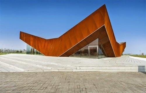 Vanke Triple V Gallery. #architecture