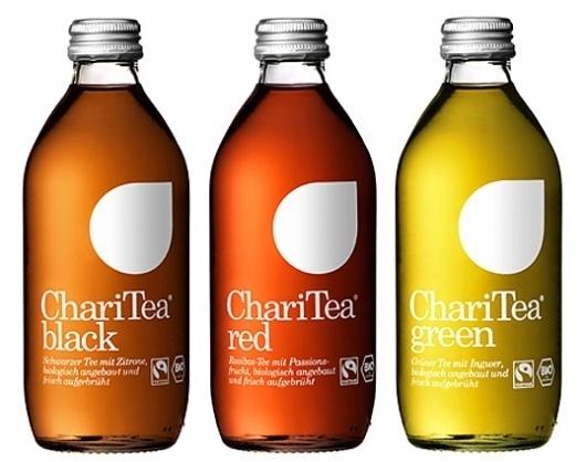 LemonAid & ChariTea | Lovely Package #packaging #beverage #food