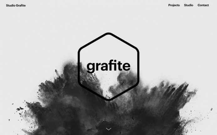 Grafite czech design studio prague  webdesign branding inspiration by mindsparkle mag