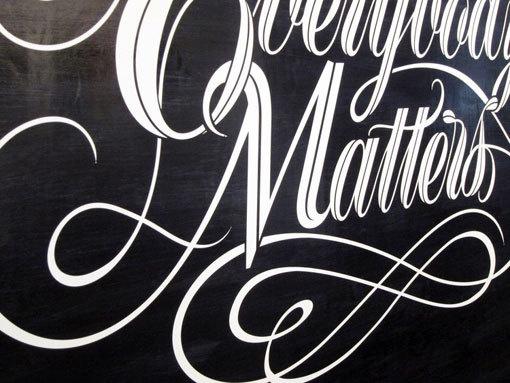 BryanPatrickTodd_EverybodyMatters_c #typography