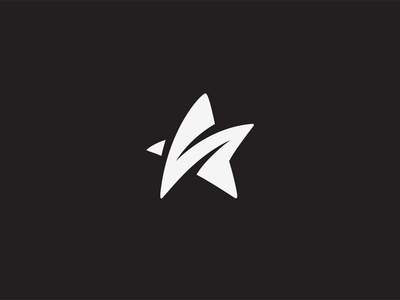 S star #white #branding #black #star #logo