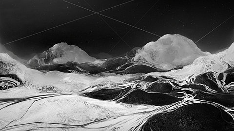 FFFFOUND! | 42x42.jpg (JPEG Image, 700x393 pixels) #night #mont #montains