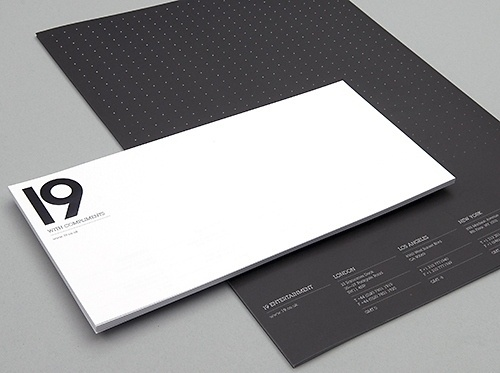 Generation Press » 19 Stationery – Zip Design – 19327 #white #and #black #minimal #stationery