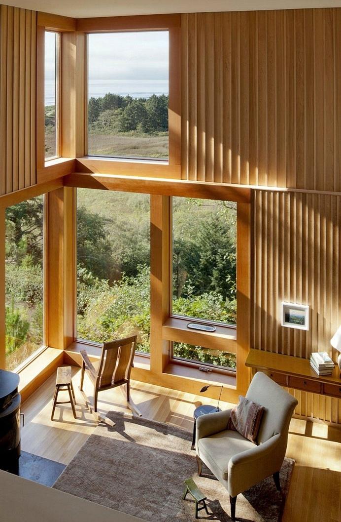 Neskowin Beach House Designed Like a Box of Cedar, Hemlock and Stone 5